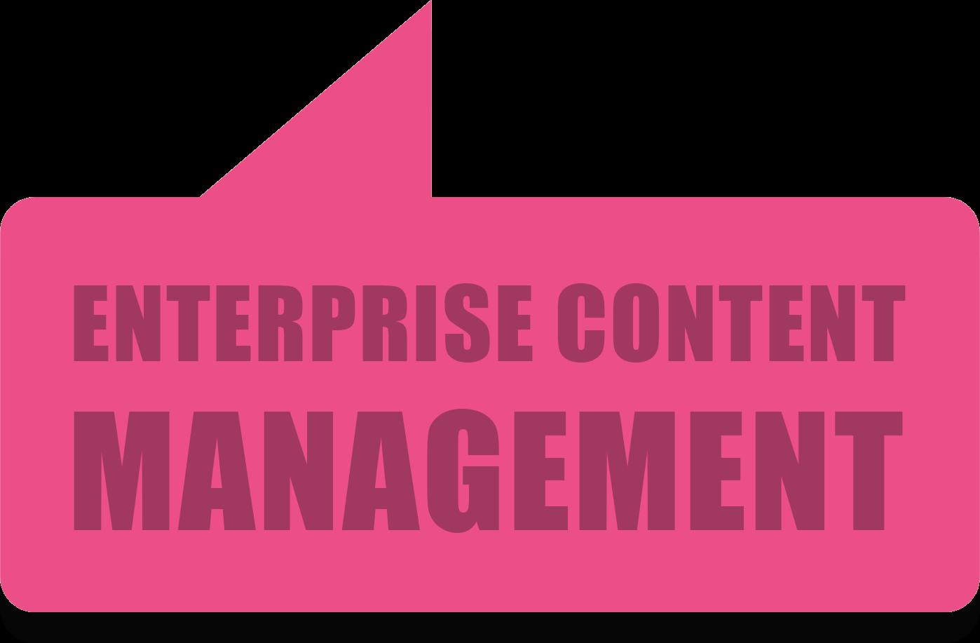 Enterprise Content Management solutions