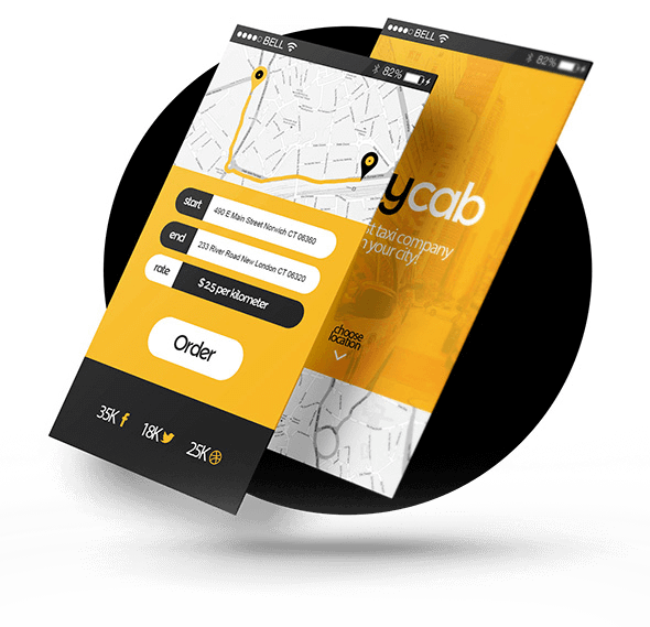 Book a Taxi On your Android Phone